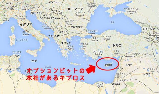 キプロスのある場所