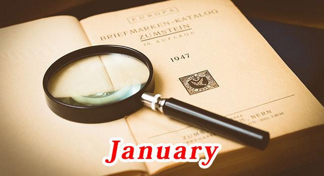 1月の経済指標