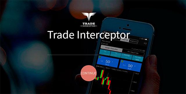Trade InterseptorはAndroidアプリでのみ利用可能