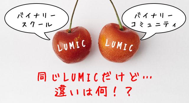バイナリーオプション投資コミュニティ「LUMIC」の評判まとめ
