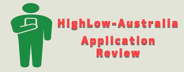 ハイローオーストラリアのアプリの評価・評判について