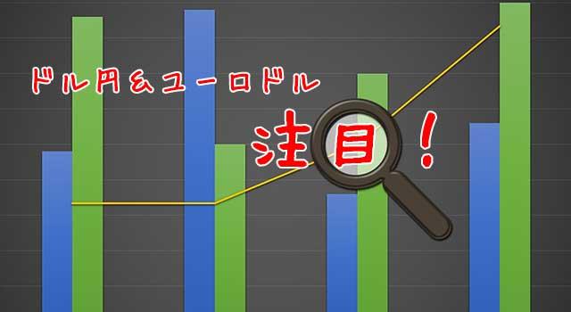 バイナリーオプションで取引なら今注目の通貨ペアはドル円とユーロドル