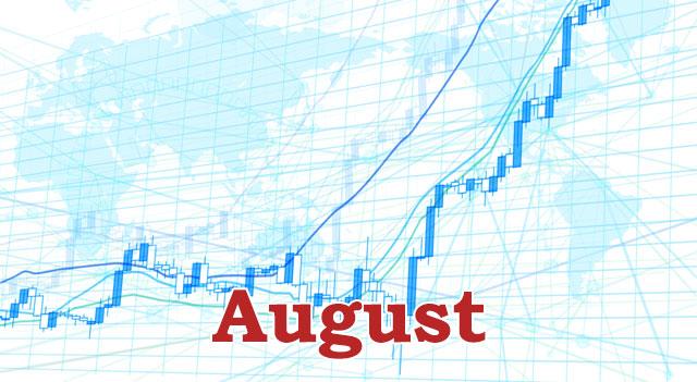 8月経済指標